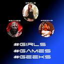 "Аватар сообщества ""Girls Games Geeks"""
