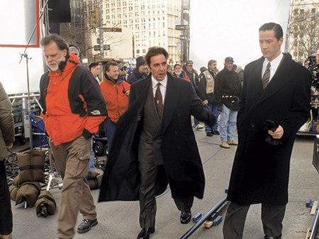 Фотографии со съёмок и интересные факты к фильмуАдвокат дьявола 1997 год Киану Ривз, Шарлиз Терон, Аль Пачино, Знаменитости, Адвокат дьявола, Фото со съемок, Интересное, Длиннопост
