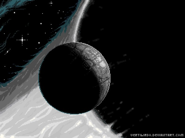 Машина Бесконечности Pixel Art, Stellaris, Гифка, Coub