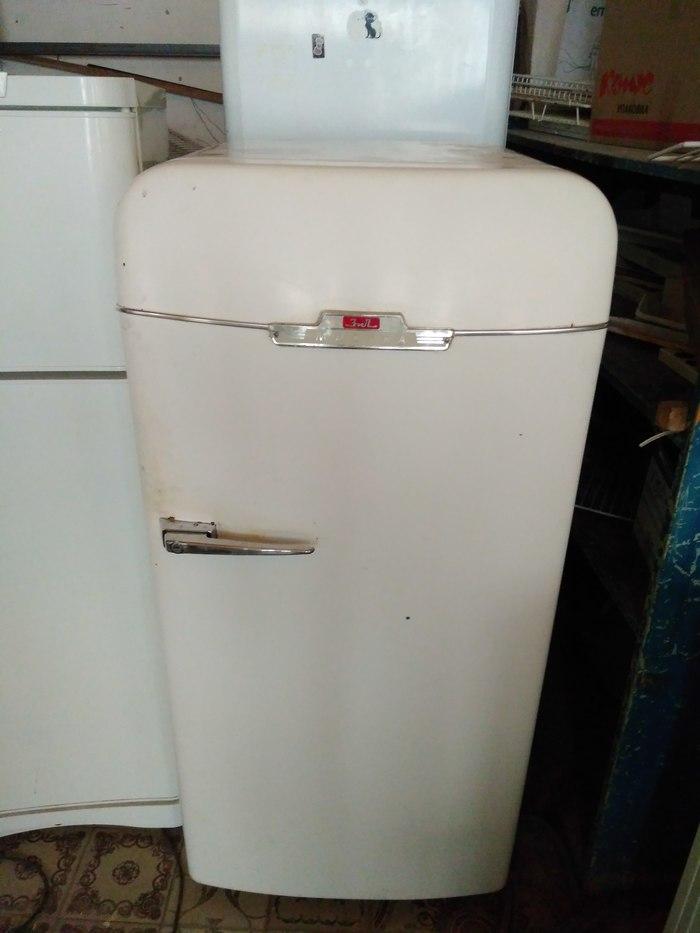 Реставрация холодильника ЗИЛ-Москва