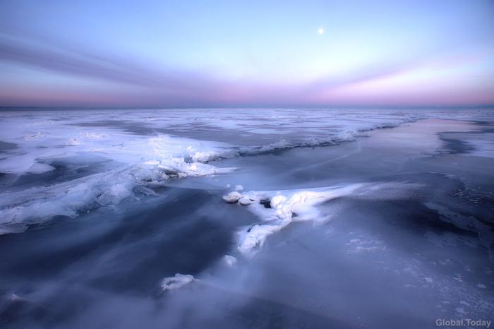 Байкал Байкал, Байкальск, Фотография, Зима, Пейзаж, Лёд, Длиннопост