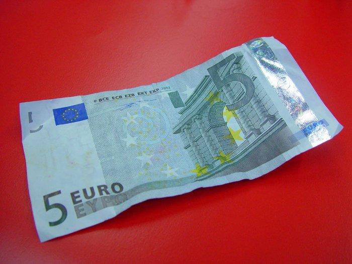 Как меня спасли 5 евро? Деньги, ПДД, Евро, Валюта, Ломбард
