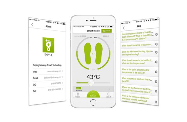 MiMeng - умные стельки с подогревом Kickstarter, Indiegogo, Зима, Холод, Гаджеты, Технологии, Стельки, Стельки с подогревом, Видео, Гифка, Длиннопост