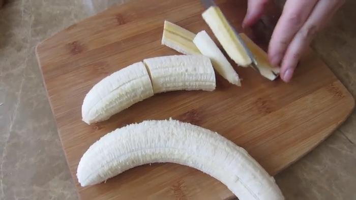 Бананы с шоколадом в лаваше Завтрак, Вкусно, Другая кухня, Рецепт, Видео рецепт, Длиннопост, Еда, Видео, Банан, Лаваш