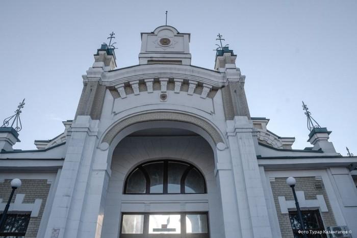 Вокзал в Туркестане Вокзал, Фотография, Туркестан, Длиннопост