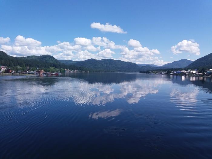 Телецкое озеро. <Отражение>