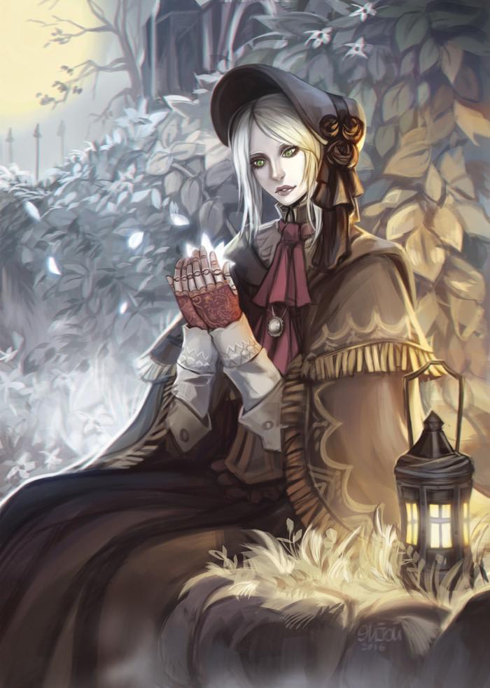ByNatasha Enijoi Natasha Enijoi, Арт, Рисунок, Bloodborne, Кукла, Doll, Игры, Длиннопост