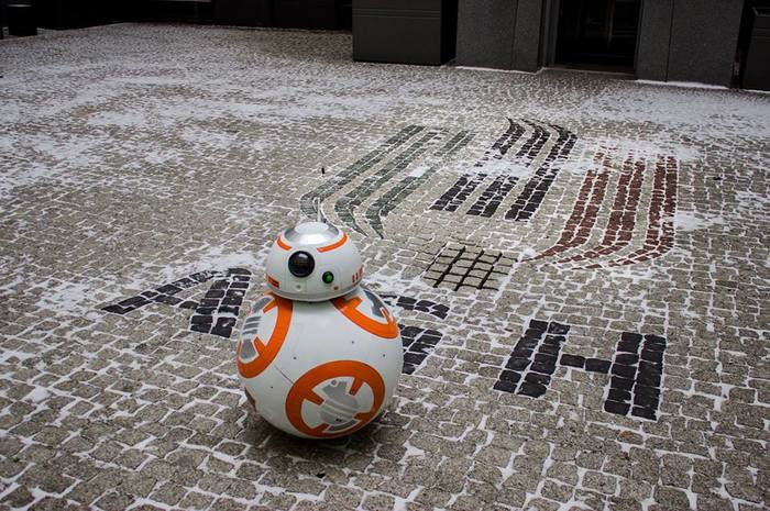 Студентка из моего университета создала BB-8 в качестве инженерского проекта Star Wars, Bb-8, Инженер, Студенты, Длиннопост