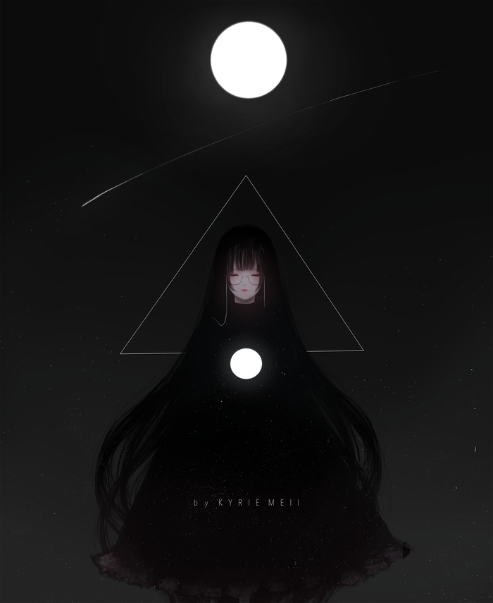 Sun and Moon Арт, Kyrie meii, Длиннопост