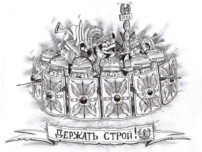 Смешарики от Евгения Жалова Смешарики, Рисунок, Юмор, Подборка, Длиннопост