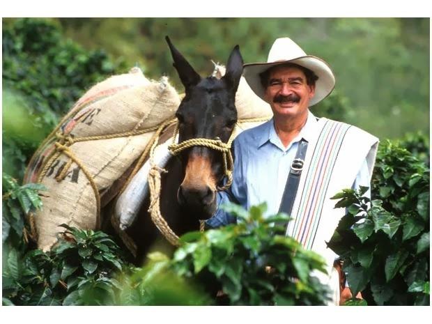 Лицо колумбийского кофе Кофе, Колумбия, Кофейня, История, Реклама, Длиннопост