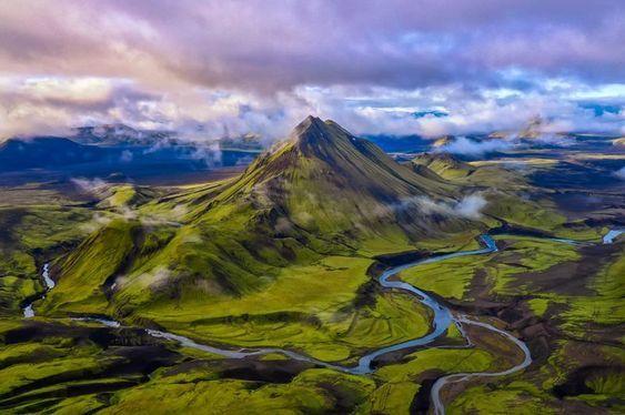 Зелень Исландии.