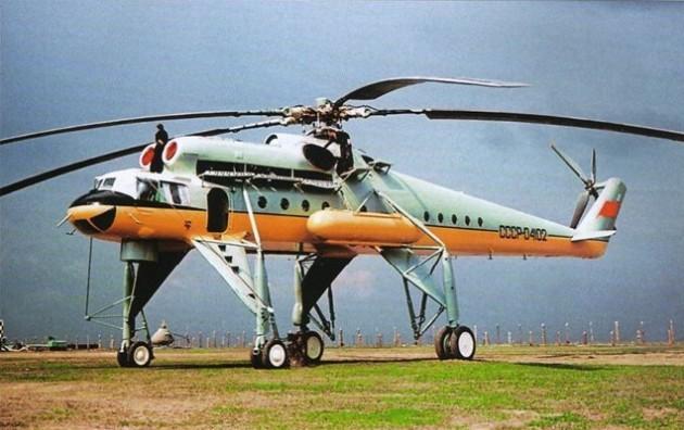 Ми-10 - летающий кран