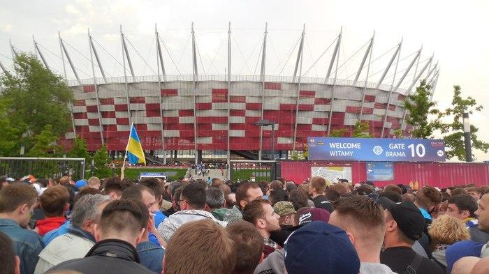 Как я в давке перед матчем оказался Футбол, Лига Европы, Болельщики, Давка, Длиннопост