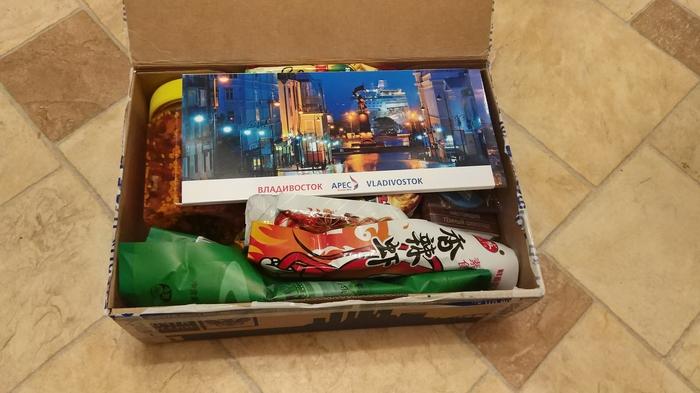 Адм. Владивосток-Москва Тайный Санта, Отчет по обмену подарками, Владивосток, Москва, Длиннопост