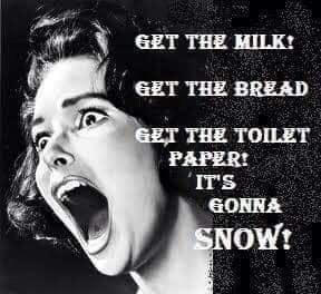 Выпал снег. Снегопад, Снег, Америка, Армагеддон, Длиннопост