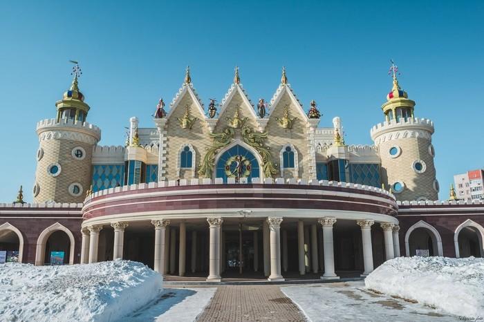 Театр кукол Театр, Казань, Татарстан, Архитектура