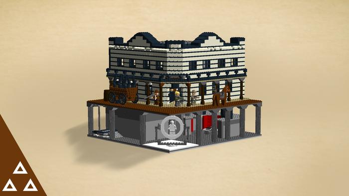Лего Салун (Мир Дикого Запада) LEGO, Мир Дикого Запада, Сериалы, Игрушки, Hbo, Салун, Конструктор, LEGO digital designer, Длиннопост