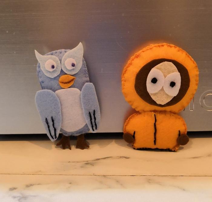 Мои первые игрушки из фетра Фетр, Кенни, Хобби, Рукоделие без процесса, Фанфики об эффективной сове