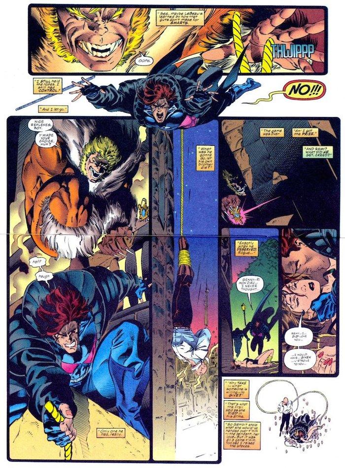 Супергеройские способности: Гамбит Супергерои, Marvel, Люди Икс, Гамбит, Комиксы-Канон, Длиннопост