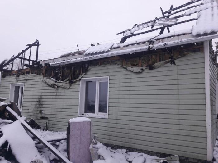 Сгорел дом. г. Тогучин Помощь, Благотворительность, Пожар, Тогучин, Длиннопост