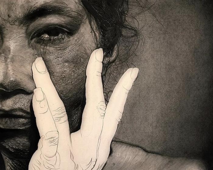 Автор картин - Luiz Escauela Живопись, Картина маслом, Портреты людей, Современное искусство, Длиннопост