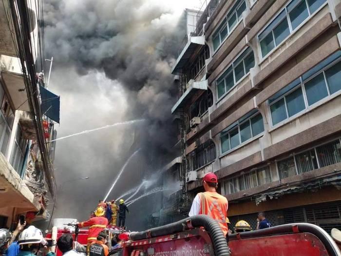Пожар на улицах. Где-то в азии. Пожар, Азия, Таиланд, Улица