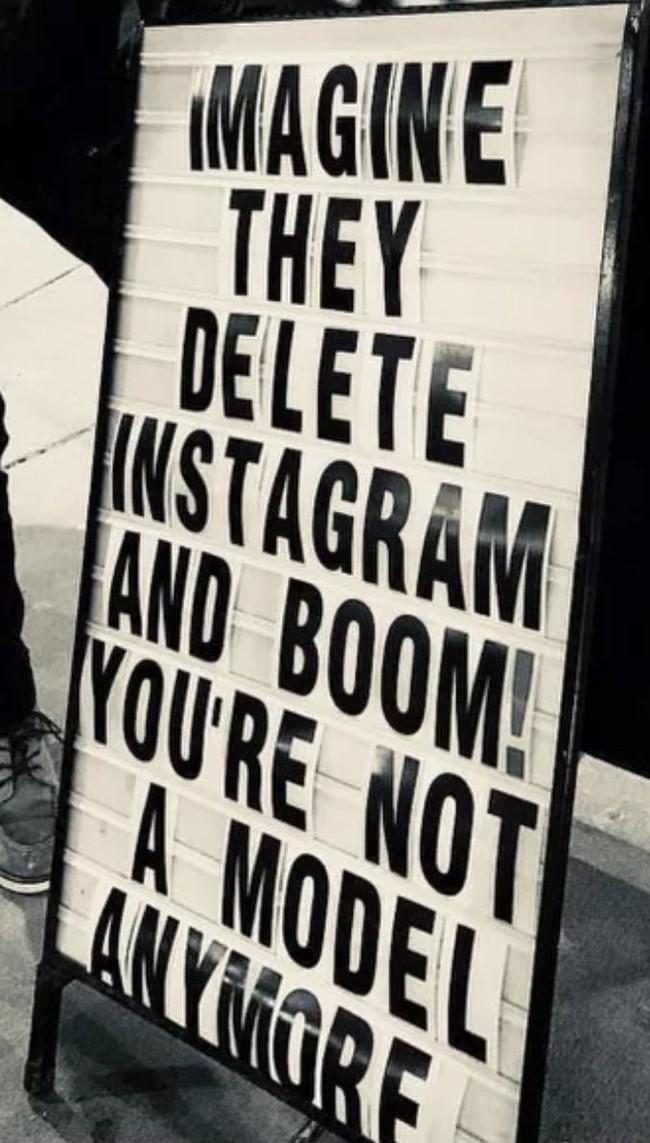 Страшный сон Ужас, Instagram, Модель