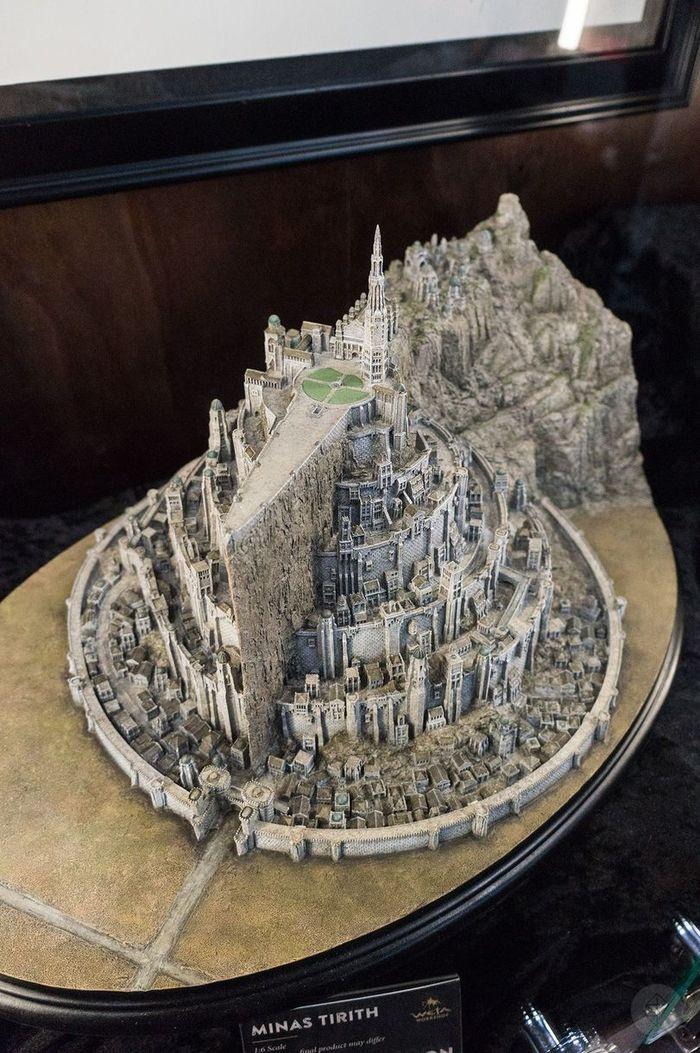 Минас Тирит в миниатюре