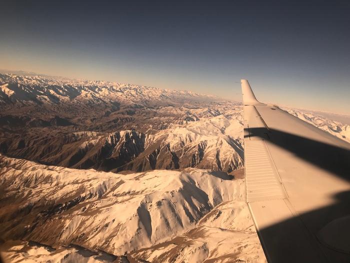 Афганистан с высоты птичьего полета