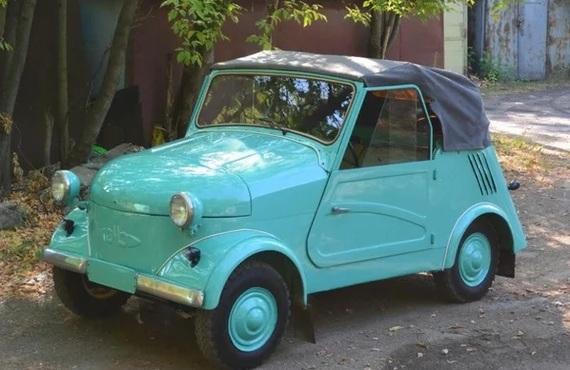 Мужики купили у деда инвалидку и превратили ее в чудесный кабриолет. Авто, Реставрация, Длиннопост, Кабриолет