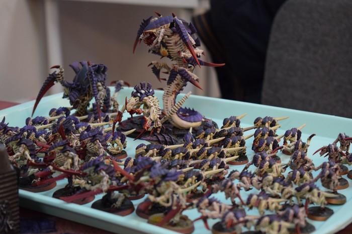 Битва тиранид и Механикус Warhammer 40k, Миниатюра, Покраска миниатюр, Тираниды, Культ Механикус, Бой, Длиннопост