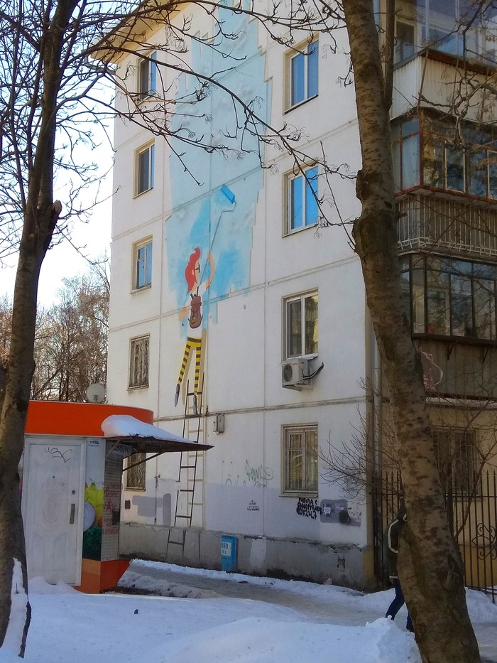 Граффити (так же как и стрит-арт) должны украшать стены, а не уродовать их #92 Уличная живопись, Граффити, Стрит-Арт, Екатеринбург, Стенография, Хиппстеры, Длиннопост