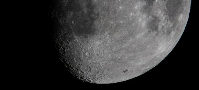 Лунный транзит МКС NASA, Космос, Луна, МКС, Транзит, Фотография, Видео, Длиннопост