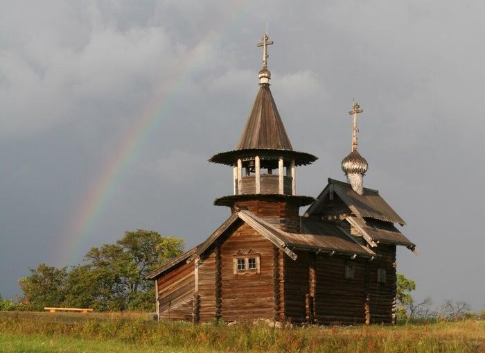 Самая древняя деревянная церковь России Церковь, Карелия