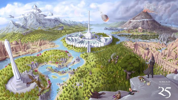 Сегодня Древние Свитки отмечают свой 25-ый день рождения! The Elder Scrolls, Skyrim, Oblivion, Morrowind, The Elder Scrolls Online