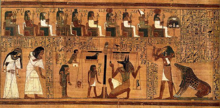 «Большие боги» появились, чтобы не за совесть, а за страх стабилизировать большие человеческие сообщества Древний Египет, Древний Восток, Общество, Длиннопост, Религия, Мифология