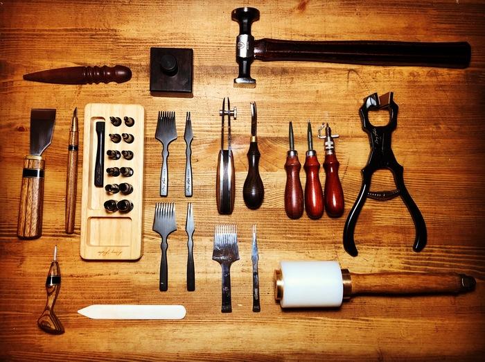 Наконец-то новые инструменты приехали! Изделия из кожи, Инструменты, Кожевенное ремесло