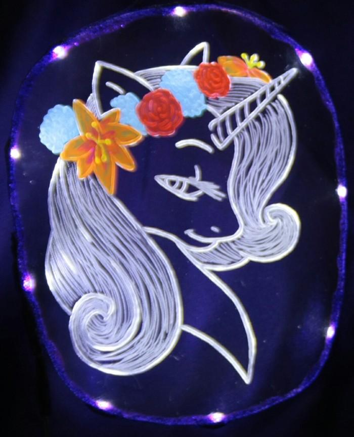 Игра с красками Mane 6, Starlight Glimmer, Sunset Shimmer, Длиннопост, Светодиоды