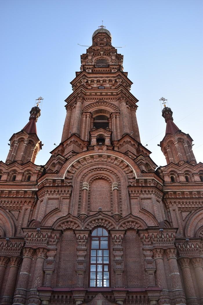 Колокольня Богоявленского собора в Казани Собор, Казань, Фотография