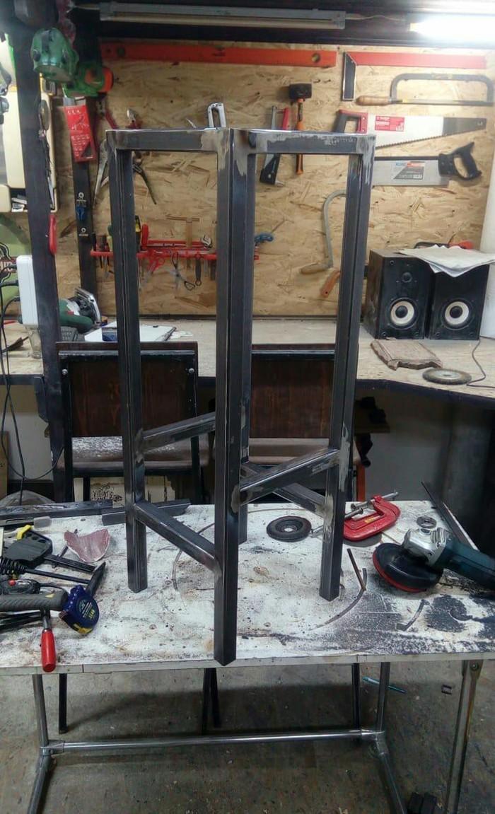 Здорова бандиты. Сегодня делаем стулья! Лофт, Сварка, Два стула, Металлообработка, Длиннопост