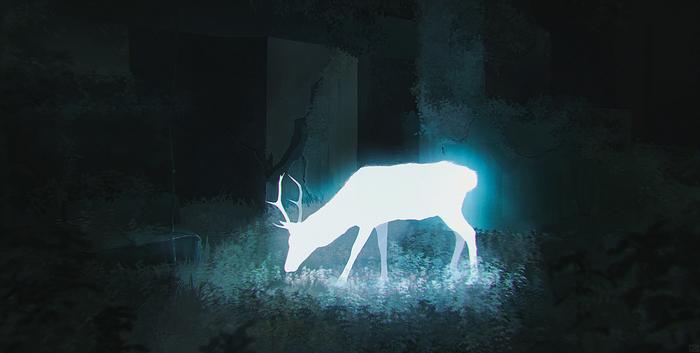 """""""Анима"""" + процесс создания I Вечернее творчество Рисунок, Арт, Цифровой рисунок, Апокалипсис, Природа, Гифка, Photoshop"""