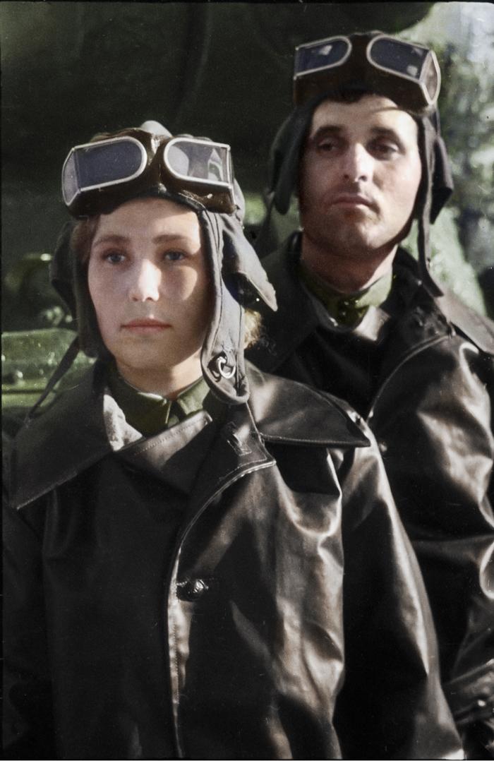 Моя колоризация Колоризация, Великая Отечественная война, Танки, Ис-2, Длиннопост, СССР