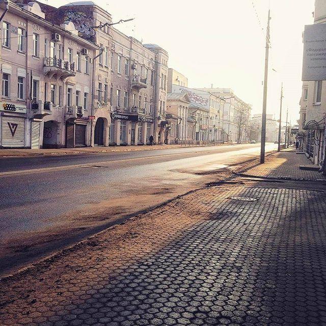 Утро в Ярославле Фотография, Ярославль, Утро, Длиннопост