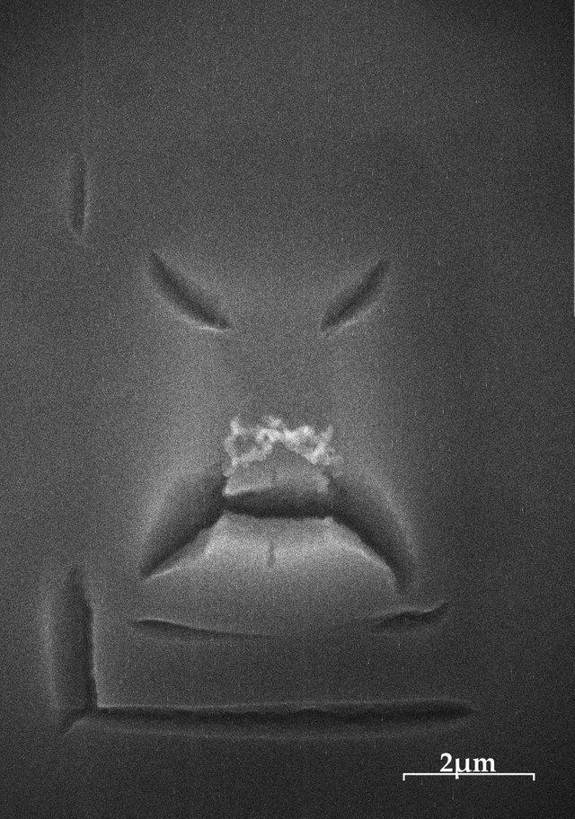 Органический полимер крайне недоволен твоим наблюдением за ним через электронный микроскоп.