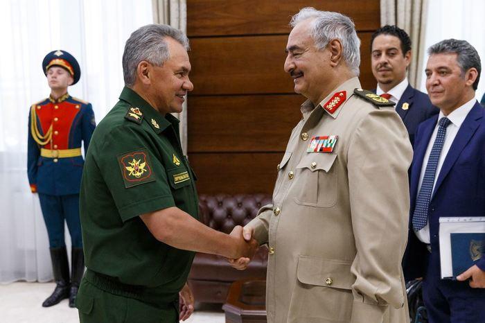 Ливийский фельдмаршал Хафтар приказал армии наступать на Триполи Ливия, Россия, Нефть, Политика