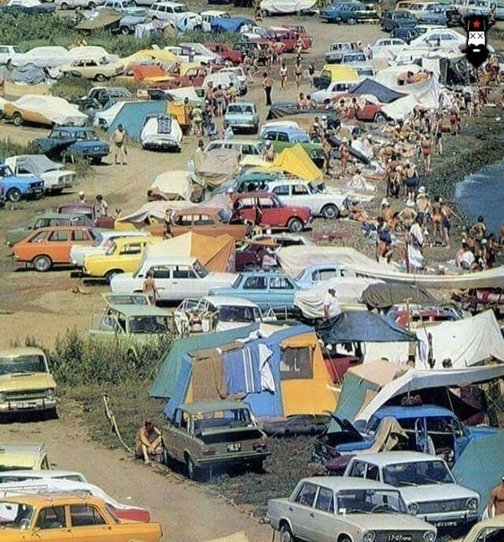 Отдых в Феодосии. Начало 80-ых.