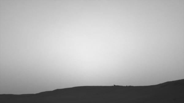 Марсоход Curiosity передал на Землю снимки затмений Солнца Марс, Curiosity, Фотография, Фобос, Деймос, Солнце, Затмение, Космос, Гифка, Длиннопост