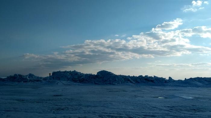 Торосы на Финском заливе Торос, Санкт-Петербург, Финский залив, Длиннопост