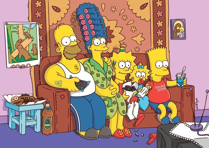Симпсоны на каждый день [8_Апреля] Симпсоны, Каждый день, Апрель